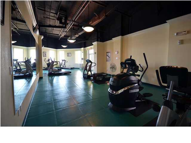 Fitness center at Beach Colony