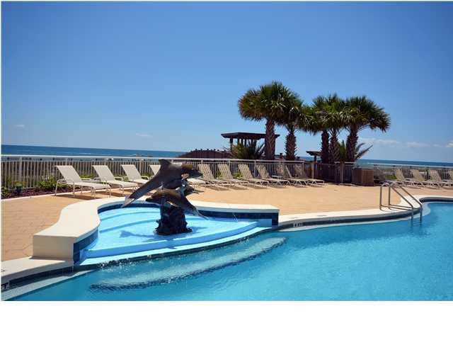 Outdoor pool at Beach Colony