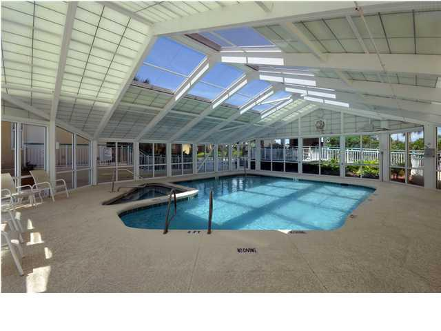 Indoor pool at Beach Colony
