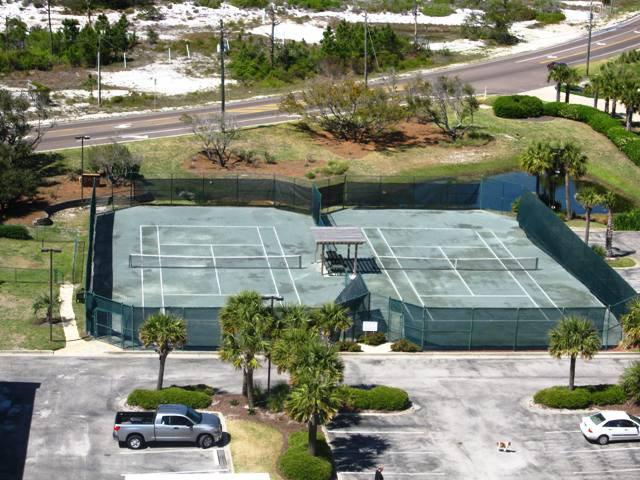 Tennis courts at Beach Colony